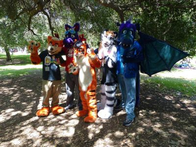 Fursuitgroup1 Lostwolf321