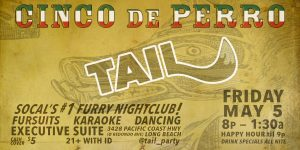 Cinco de Perro Party Poster from TAIL!