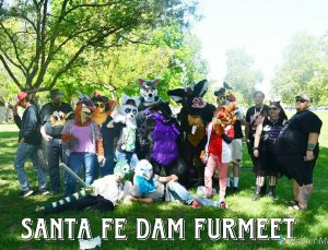 Group photo banner of the Santa Fe Furmeet, submitted Fall 2018