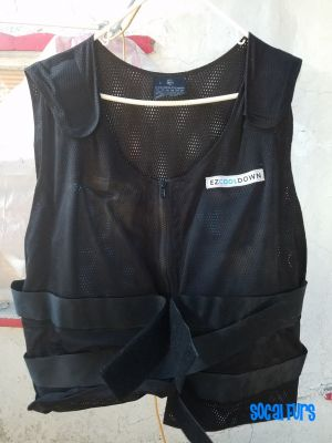 Photo of large sized cooling vest found at SoCal Furs' FurBQ 2017