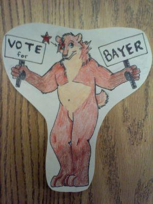 Bayer the Bear, artwork by ThatCrazyDragonDog (FrostwolfSpirit)