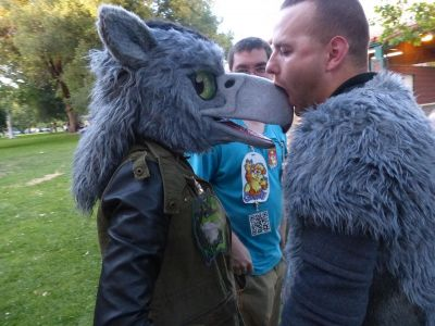 Fursuitnibbles Lostwolf321