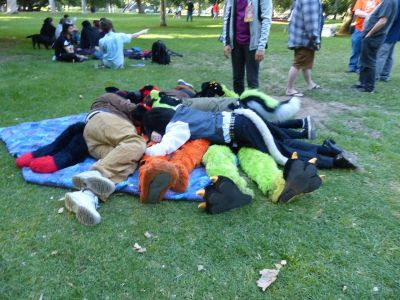 Fursuits Pile-On