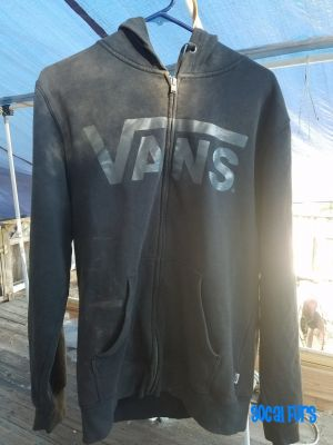 Front view of a dark hoodie found at SoCal Furs' FurBQ 2017